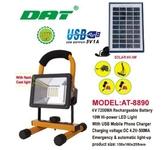 Прожектор на солнечной батарее DAT AT-8890